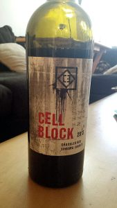 Cell Block  Shackled Red - 2013 - Sonoma County (15.7%)